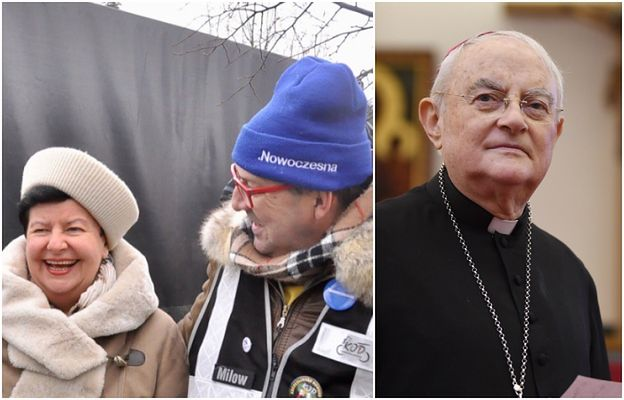 """""""Watykański urzędas"""" nie wierzy w """"modły"""". Senyszyn drwi z choroby arcybiskupa Hosera"""