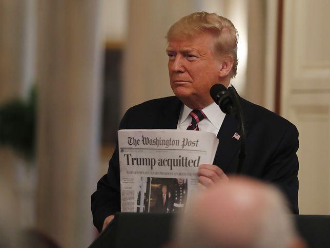 45. prezydent USA Donald Trump