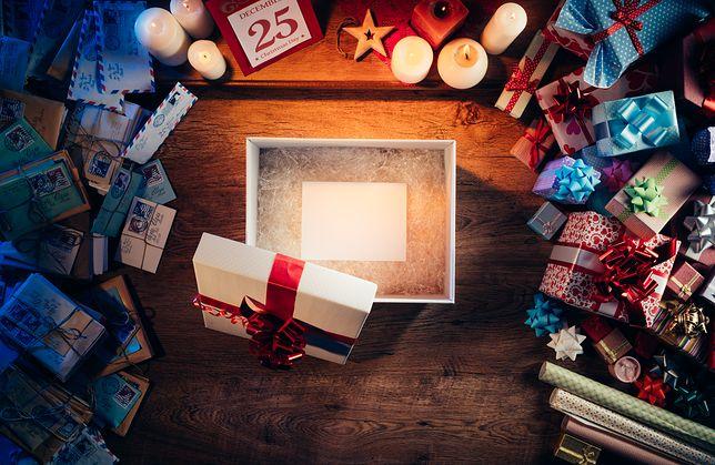 Paczka z prezentami