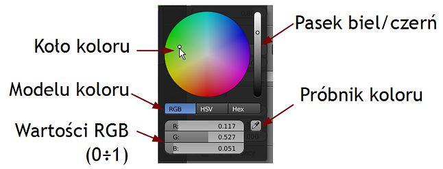 Wybór kolorów