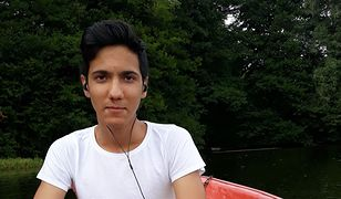 Zaginiony 15-letni Darek Al-Ansi