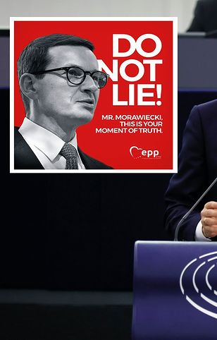 Gorąco w Parlamencie Europejskim. Spięcie Morawieckiego z prowadzącym obrady
