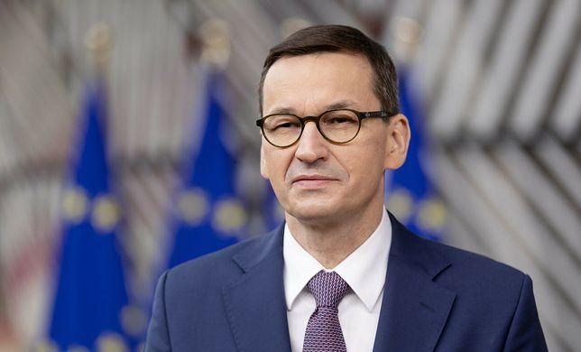 Na zdjęciu premier Mateusz Morawiecki