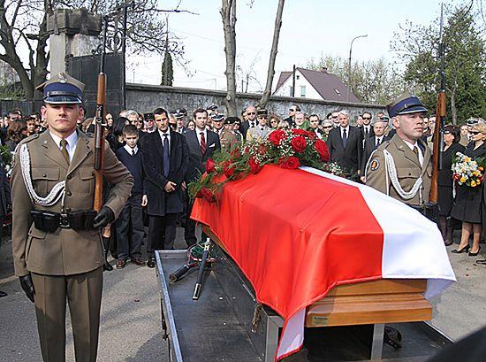 Stanisław Komorowski spoczął na Starych Powązkach