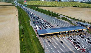 Autostrada A1. Wydłużył się korek przed bramkami