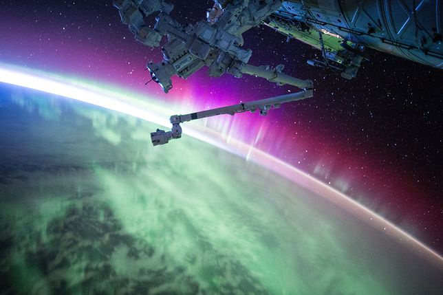 Jedno z nieziemskich obrazów opublikowanych przez NASA