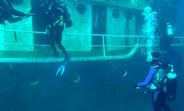 Urbex History. Wrak statku w Chorwacji