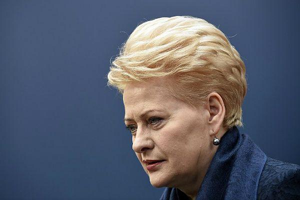 Prezydent Litwy Dalia Grybauskaite: Europa nie może poddać się szantażowi agresora