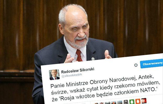 Wpis Radosława Sikorskiego na Twitterze wywołał ogromną burzę. Jest odpowiedź Kaczyńskiego