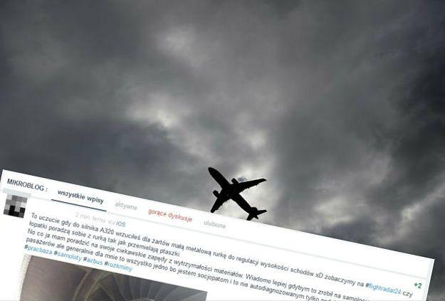 """Pracownik lotniska w Katowicach """"zażartował"""", że wrzucił metalową rurkę do silnika samolotu. Stracił pracę i obwinia internautów"""