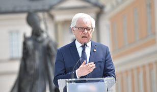 Wyniki wyborów 2020. Konferencja szefa MSZ Jacka Czaputowicza
