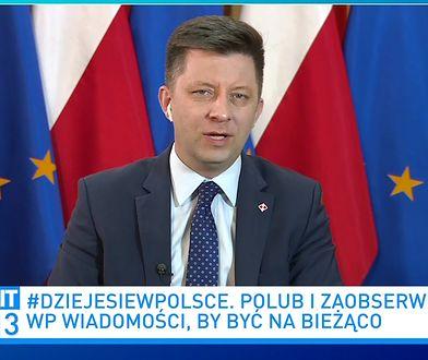 """Krytyka KPRM w """"Wiadomościach"""" TVP. Dworczyk mówi o nierzetelności w mediach"""