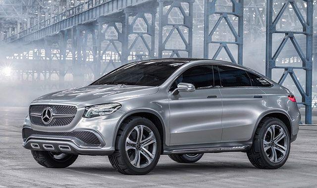 Mercedes Concept Coupe SUV zapowiada konkurenta BMW X6