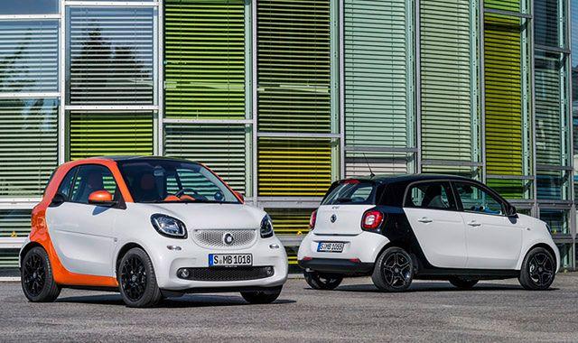 Smart pokazał nową generację modeli Fortwo i Forfour