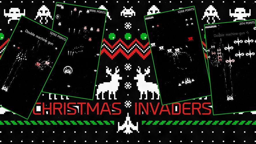 Christmas Invaders na weekend