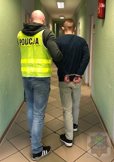 Policja zatrzymała mężczyznę w czwartek
