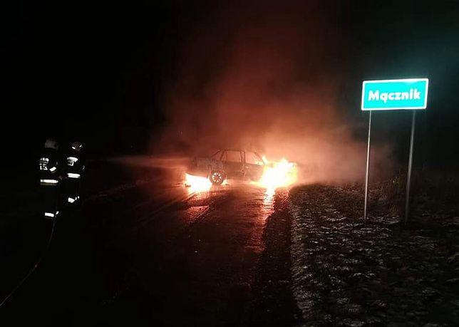 Wypadek we wsi Mącznik