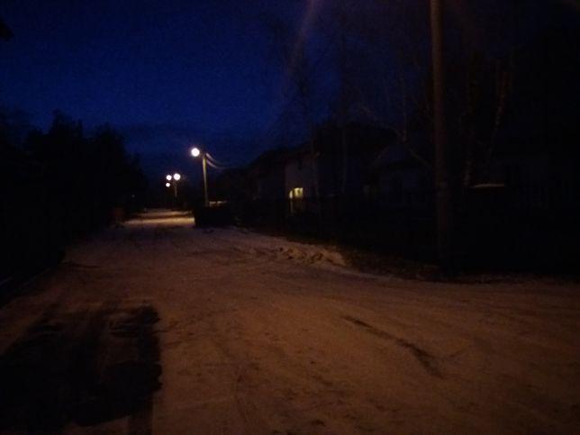 Droga prowadząca do domu księdza w Duczkach