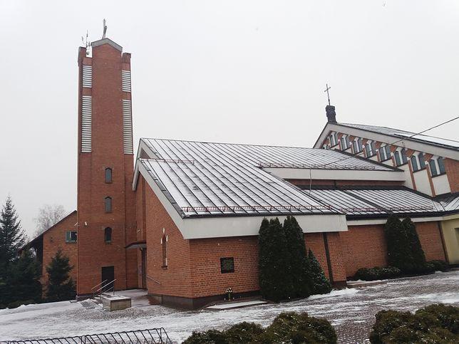 Kościół w Kobyłce, gdzie proboszczem do 2015 roku był ks. Bogdan S.