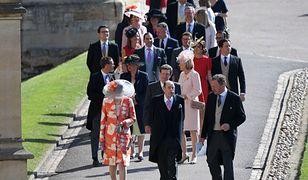 Goście na książęcym ślubie