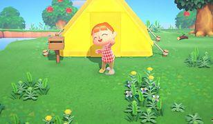 Zrzut ekranu ze zwiastuna gry Animal Crossing: New Horizons