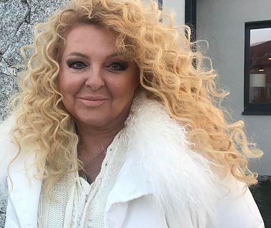 """Magda Gessler w trakcie nagrań programu """"Kuchenne Rewolucje"""""""