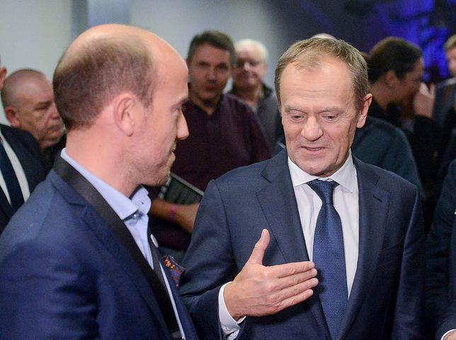 Wybory prezydenckie 2020. Borys Budka mówi o Donaldzie Tusku