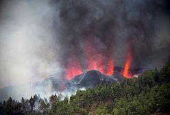 Wyspy Kanaryjskie. Wybuch wulkanu na wyspie La Palma