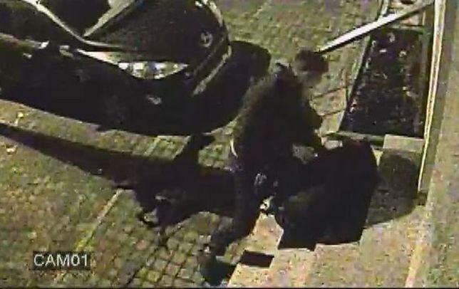 Policja szuka ofiary napadu. Szokujące nagranie z monitoringu