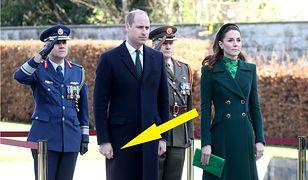 Książę William jest przyzwyczajony do wystąpień publicznych