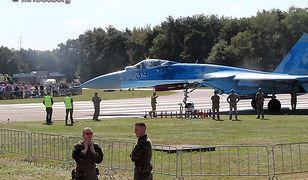 Su-27 może poruszać się z prędkością nawet 2500 km/h