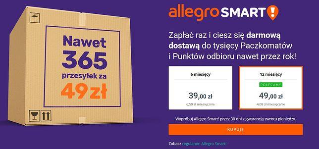 Allegro Smart! to nowa usługa Allegro