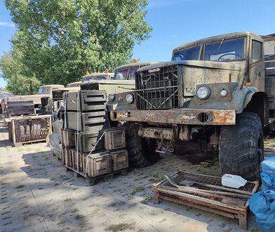 """Odwiedziliśmy największy """"wojskowy market"""" w Polsce. """"Po czołg potrafi przyjść zwykły Kowalski"""""""