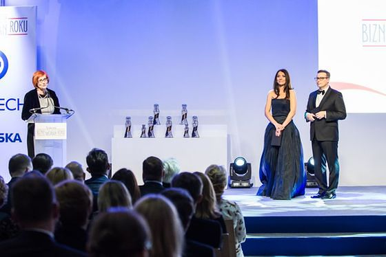 Uroczysta gala konkursu SPS Bizneswoman Roku 2014