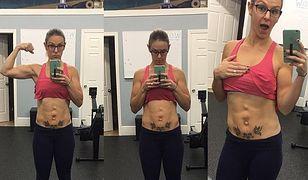 Gwiazda fitness pokazuje, jak wygląda ciało po ciąży