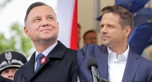 Najnowszy sondaż prezydencki IBRIS dla WP. Dla kogo II tura wyborów? Andrzej Duda i Rafał Trzaskowski idą łeb w łeb