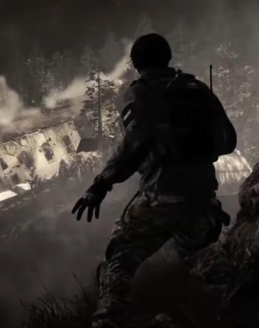 Kadr z gry Call of Duty