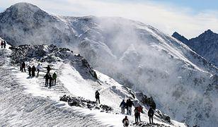 W Tatrach kilka stopni mrozu i śnieg