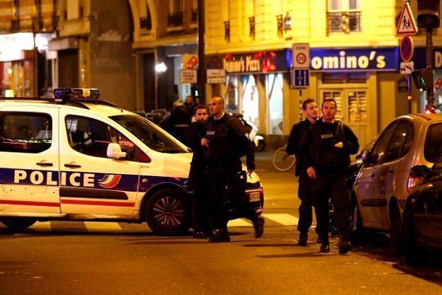 Policja zabezpiecza miejsce zdarzenia