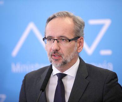Sejm. Ważne głosowanie odroczone. Głos zabiera Adam Niedzielski z Ministerstwa Zdrowia