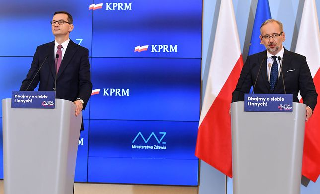 Koronawirus. Polacy ocenili działania rządu ws. drugiej fali epidemii