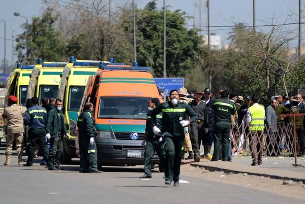 Do wypadku doszło na autostradzie między Kairem a Aleksandrią