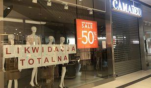 Sieć Camaieu znika z Polski. Wielka wyprzedaż ubrań we wszystkich sklepach stacjonarnych