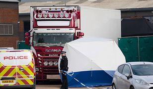 Wielka Brytania. Ciężarówkę z ciałami 39 obywateli Wietnamu odkryto 23 października
