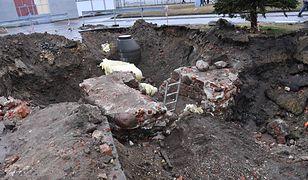 Prace archeologiczne na terenie Zakładu Karnego w Nowogardzie