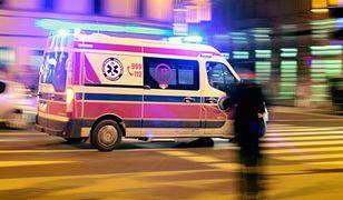 Mężczyźni zostali przetransportowani do szpitala