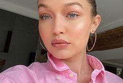 Gigi Hadid w męskiej koszuli. Ten model to gorący trend Instagrama