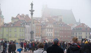 Smog Warszawa - Plac Zamkowy