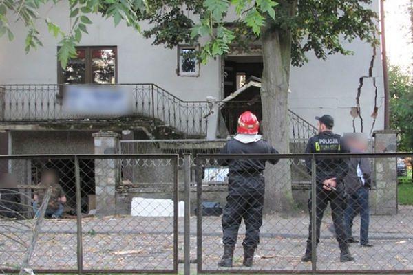 Wybuch gazu w Lęborku. Mężczyzna chciał popełnić samobójstwo?