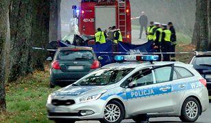 Droga na przedmieściach Wrocławia była zablokowana przez kilka godzin